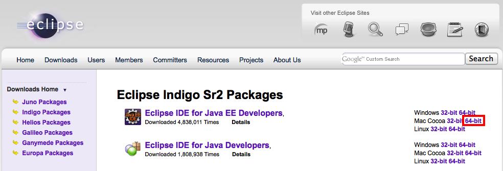 Download eclipse indigo ide for java ee developers | Download